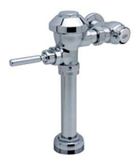 """Zurn Z6000AV-HET 1"""" Npt Inlet 1.28Gpf Chrome Plated Top Spud Diaphragm Exposed Water Closet Flush Valve"""
