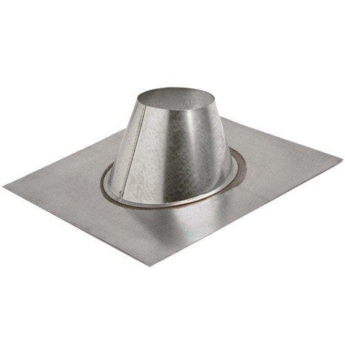"MetalFab 4MF 4"" 2/12 To 5/12 Pitch Standard Adjustable Roof Flashing"