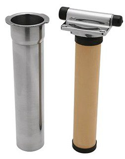 Rohl Perrin U.1812-2 Stainless Steel Kitchen Faucet In-Line Filter