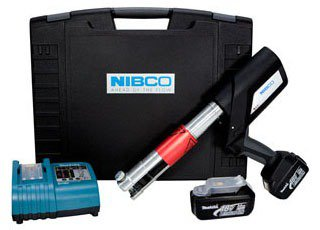 NIBCO Press R00105PC 18V Tool Kit W/Battery Charger/Case