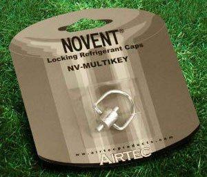 Competitive Novent 86698 Refrigerant Locking Cap Multikey