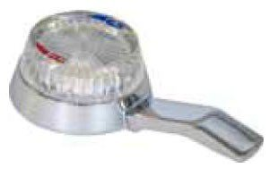 """Kissler 46-0105 3-1/4"""" X 1-11/16"""" Chrome Lever Faucet Handle"""