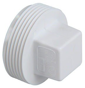 "Fig K177250 2"" Mpt Pvc Square Head Plug"