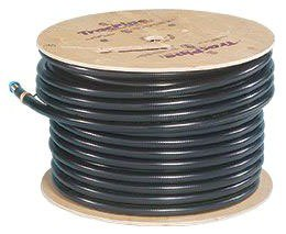 "TracPipe FGP-CS-100-50 1"" X 50' Reel Flexible Stainless Steel/Polymer Gas Tube"