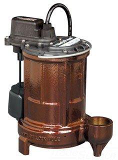 """Liberty 257 1-1/2"""" 1/3Hp 115V Submersible Sump Pump"""
