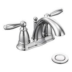 Moen 66610 Brantford chrome One Handle Bathroom Faucet