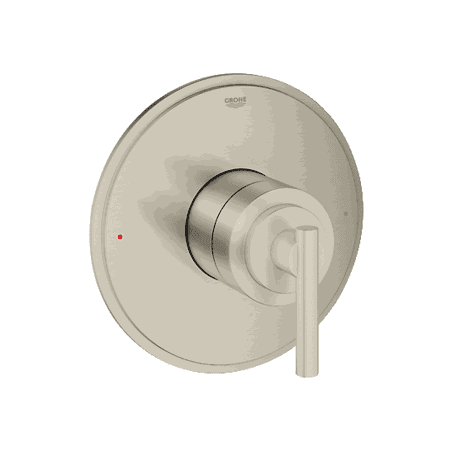 Grohe 19866 ANT Atrio 6 3/4 Inch Single Function Pressure Balance Trim with Control Module in Brushed Nickel