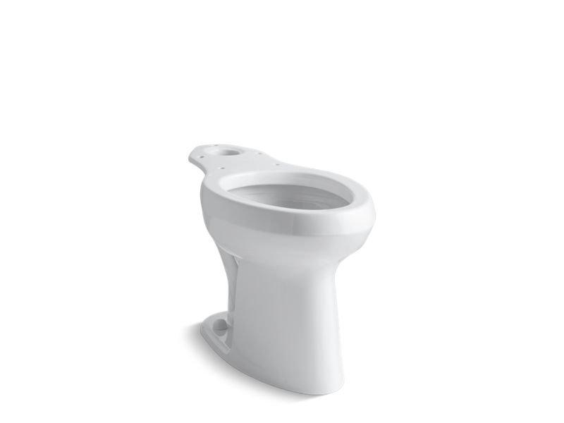 Kohler K-4304-0 Highline Toilet Bowl with Pressure Lite Flushing Technology in White