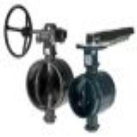 "Anvil Gruvlok 4-AN7721-3 4"", 300Psi, Lead-Free, Nylon, Locking Lever Handle, Butterfly Valve"