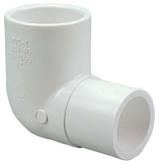 "Fig L859150 3/4"" X Male Spigotxfemale Socket Pvc 90D Street Elbow"