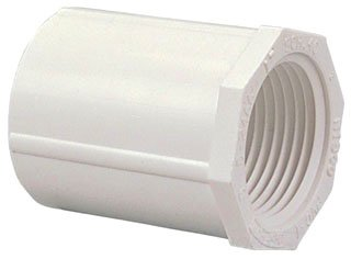 "Fig L02465Y 1/2"" X Female Socketxfpt 2000Psi Pvc Adapter"
