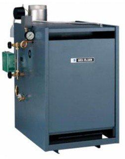"Weil-McLain 118-454-300 150Mbh 6"" Vent Cast Iron Floor Mount Natural Residential Gas Boiler"