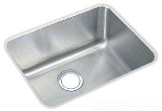 "Elkay ELUH1814 Lustertone Classic Stainless Steel 20-1/2"" x 16-1/2"" x 7-7/8"" Single Bowl Undermount Sink in Lustrous Satin"