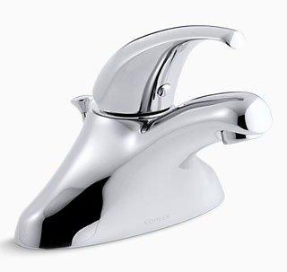Kohler Coralais K-P15182-P-CP 1.5Gpm Chrome 1-Handle 1-Hole Center Bathroom Sink Faucet