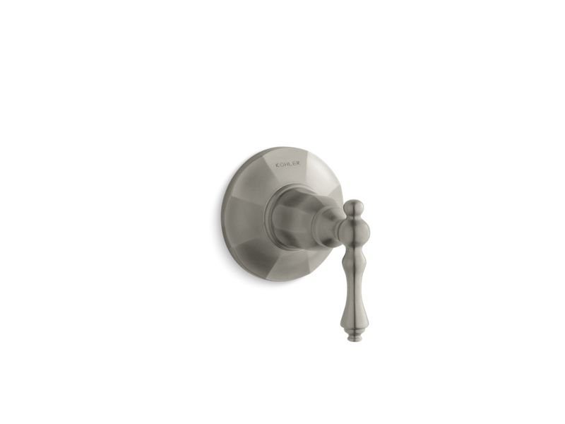 Kohler K-T13661-4-BN Kelston Transfer Valve Trim in Vibrant Brushed Nickel
