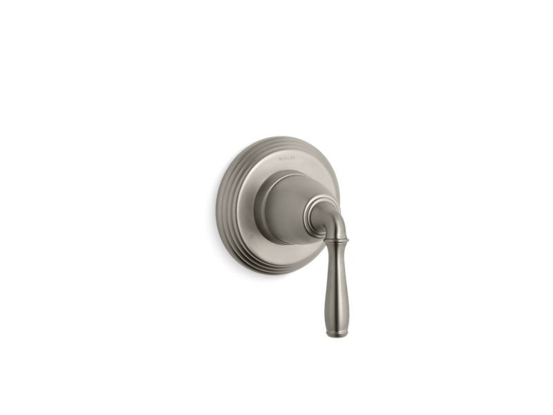 Kohler K-T376-4-BN Devonshire Valve Trim for Transfer Valve with Lever Handle, Requires Valve in Vibrant Brushed Nickel