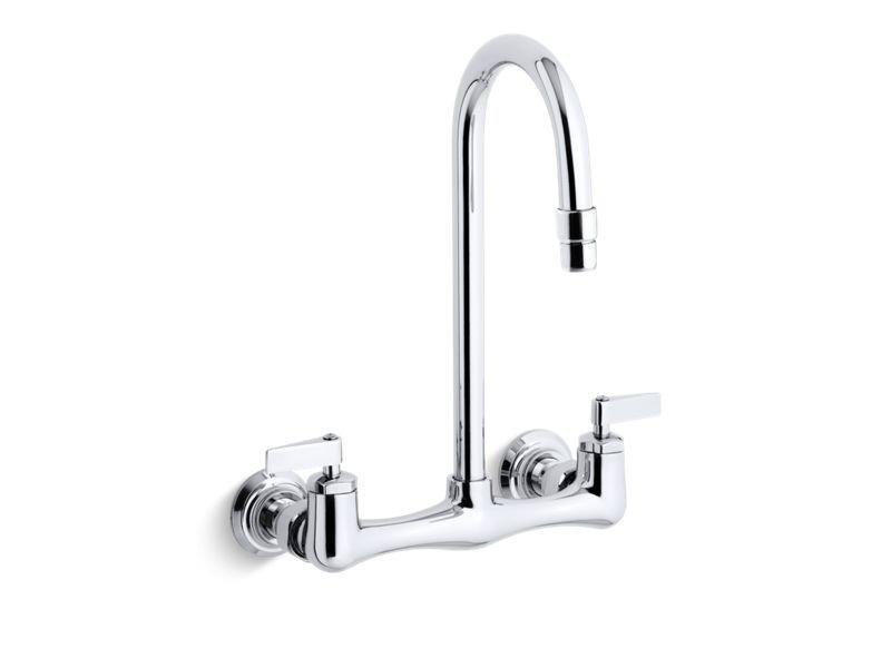 Kohler K-7320-4-CP Triton Sink Fct/Lvr Handles