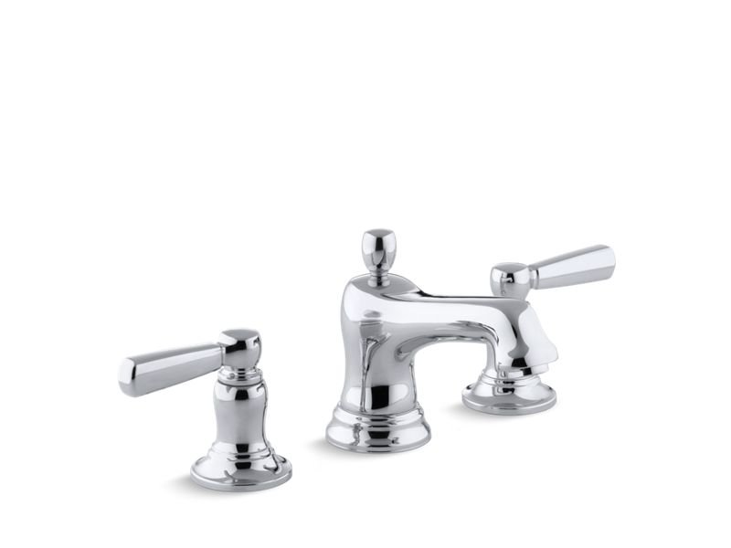 Kohler K-10577-4-CP Bancroft Widespread Bathroom Sink Faucet - Polished Chrome in Polished Chrome