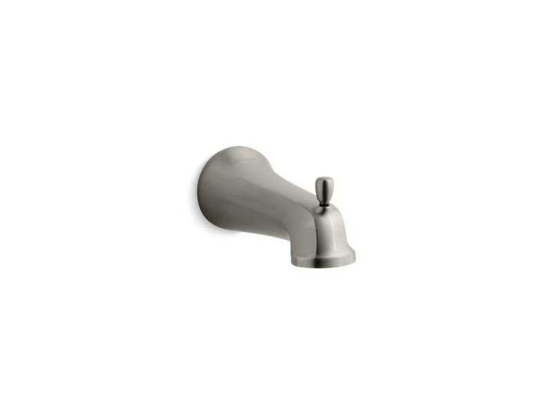 Kohler K-10588-BN Bancroft Wall Mount Diverter Bath Spout in Vibrant Brushed Nickel