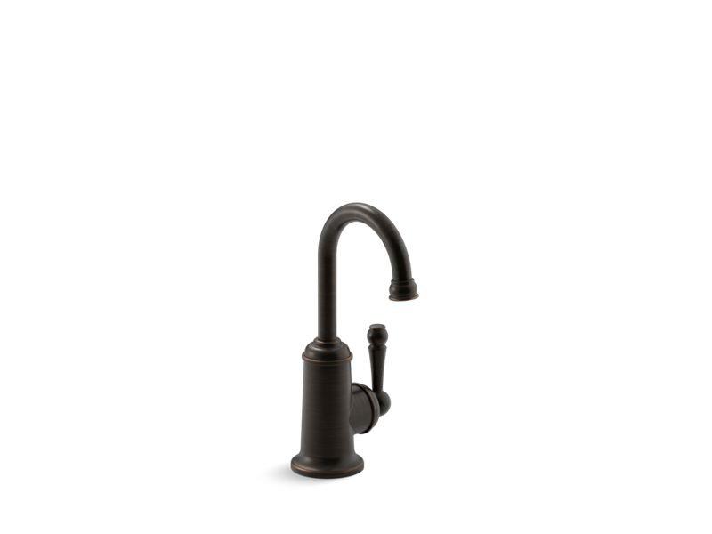 Kohler K-6666-2BZ Wellspring Beverage Faucet with Traditional Design in Oil-Rubbed Bronze
