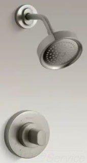 """Kohler Oblo K-T10056-9-BN 1/2"""" Npt Vibrant Brushed Nickel 1-Handle Shower Faucet"""