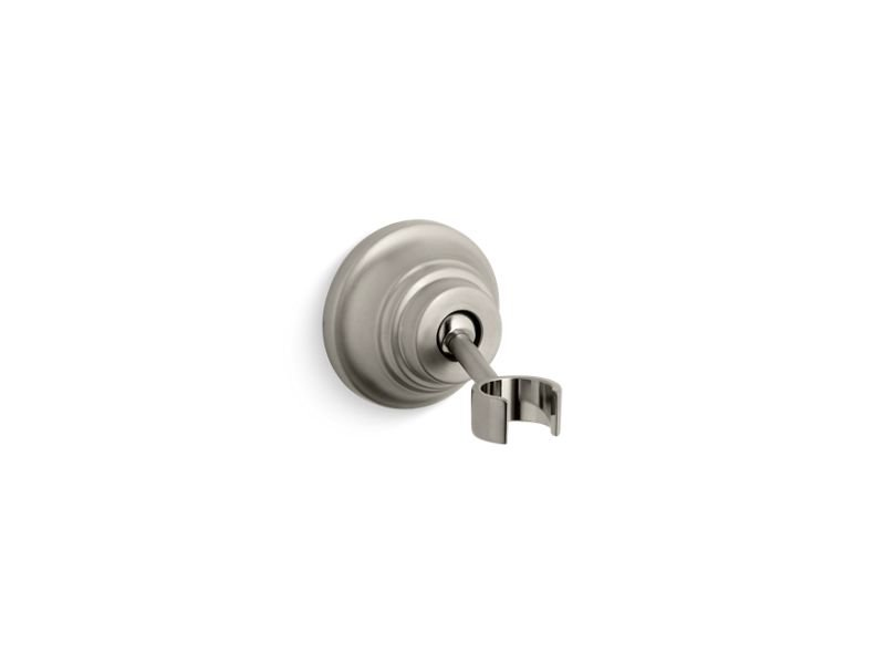 Kohler K-10599-BN Bancroft Adjustable Wall Mount Handshower Holder in Vibrant Brushed Nickel