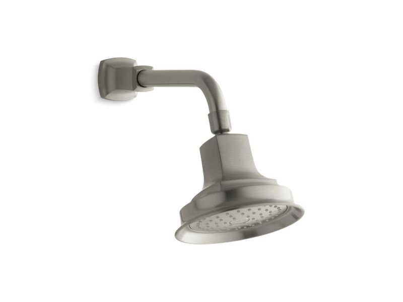 Kohler K-16244-AK-BN Margaux 2.5 GPM Single-Function Showerhead With Katalyst Air-Induction Technology in Vibrant Brushed Nickel