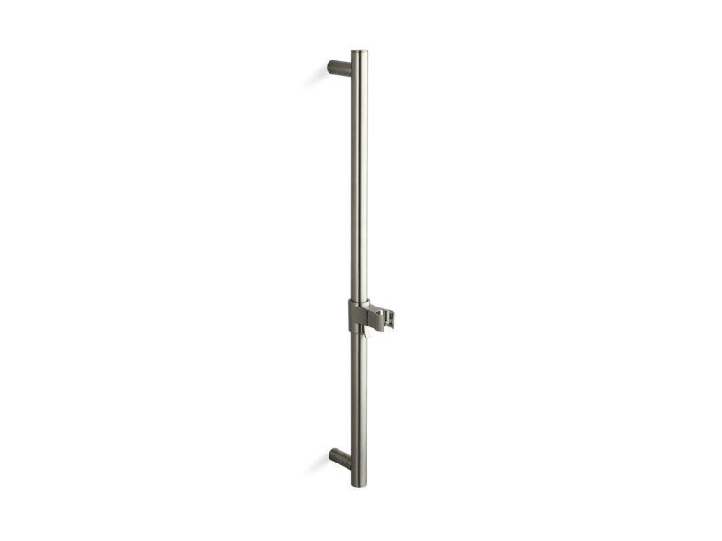 """Kohler K-9069-BN 24"""" Shower Slidebar in Vibrant Brushed Nickel"""