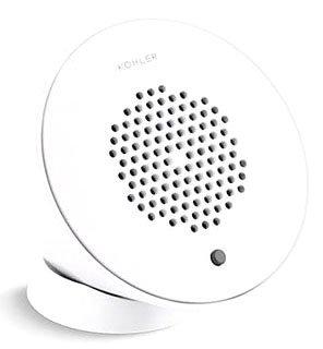 Kohler K-9246-0 Moxie Wireless Speaker in White