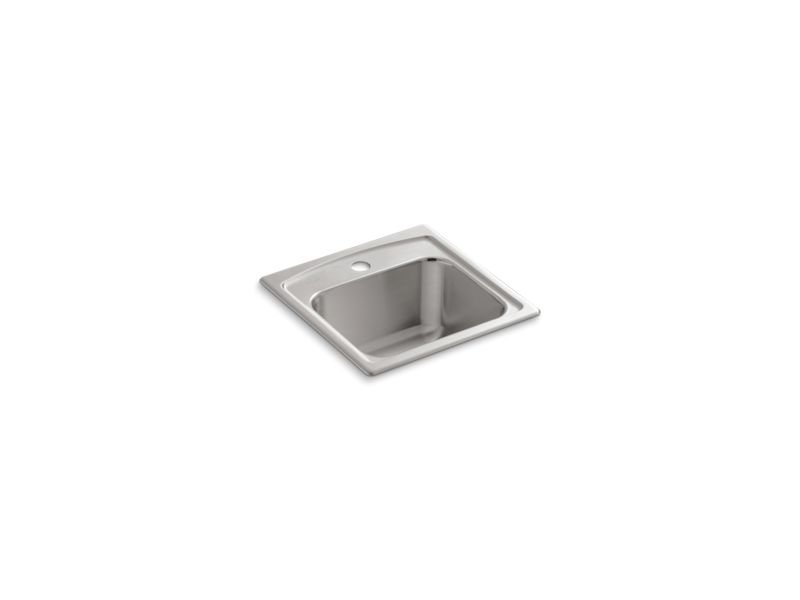 Kohler K-3349-1-NA Toccata Top-Mount Bar Sink with Single Faucet Hole