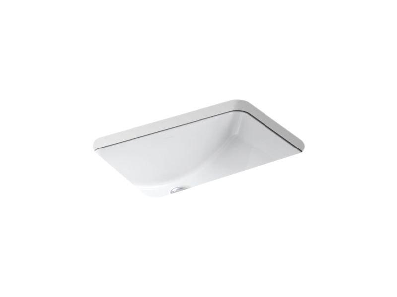 "Kohler K-2214-0 Ladena 20-7/8"" Under-Mount Bathroom Sink in White"