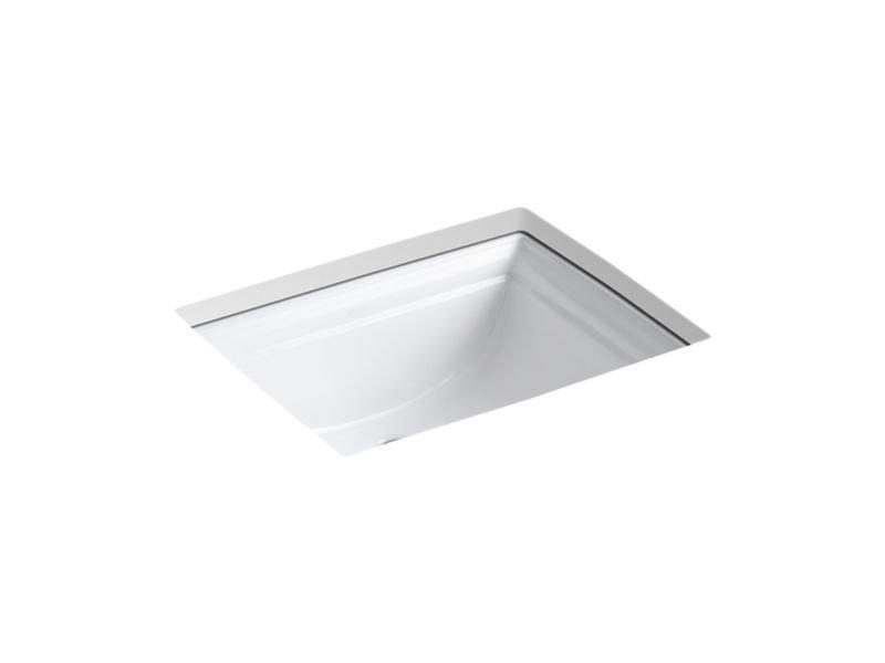 Kohler K-2339-0 Memoirs Under-Mount Bathroom Sink in White
