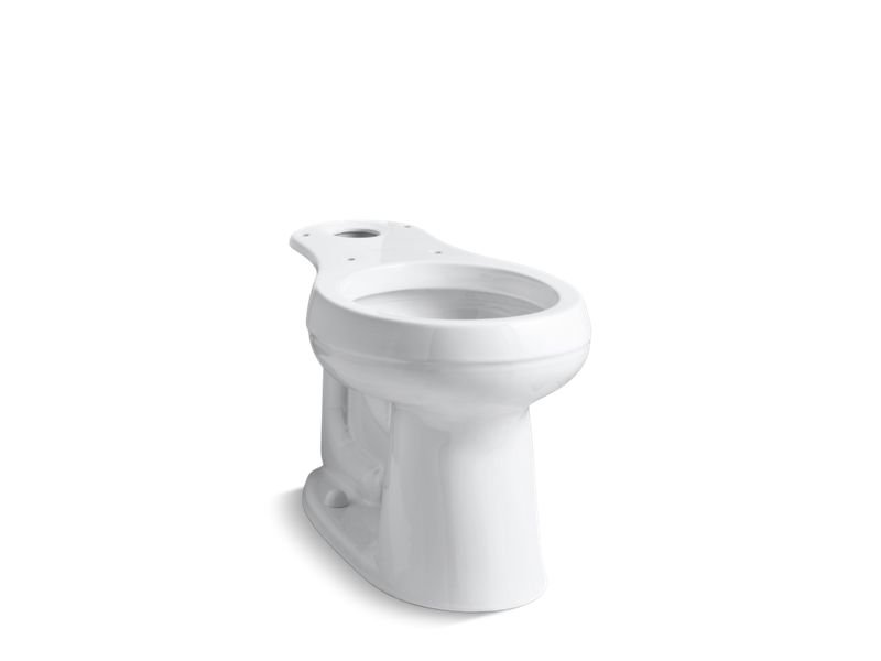 Kohler K-4347-0 Cimarron Comfort Height Round-Front Bowl in White