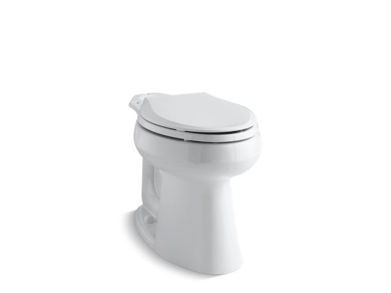 "Kohler K-4373-0 Highline 10"" Rough-In Comfort Height Elongated Bowl in White"