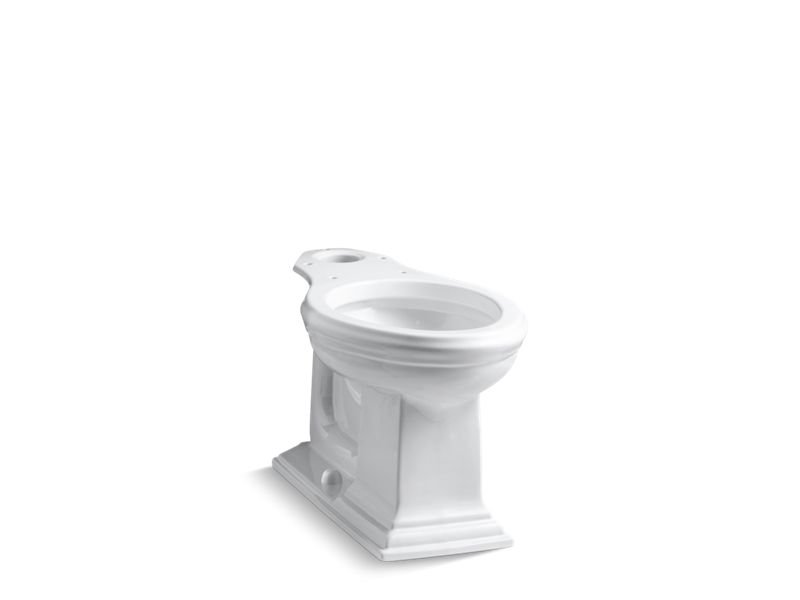 Kohler K-4380-0 Memoirs Comfort Height Elongated Toilet Bowl in White
