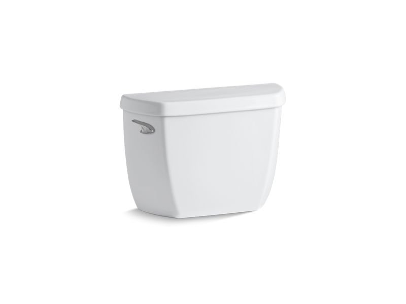 Kohler K-4436-0 Well worth Classic 1.28 GPF Toilet Tank with Class Five Flushing Technology in White