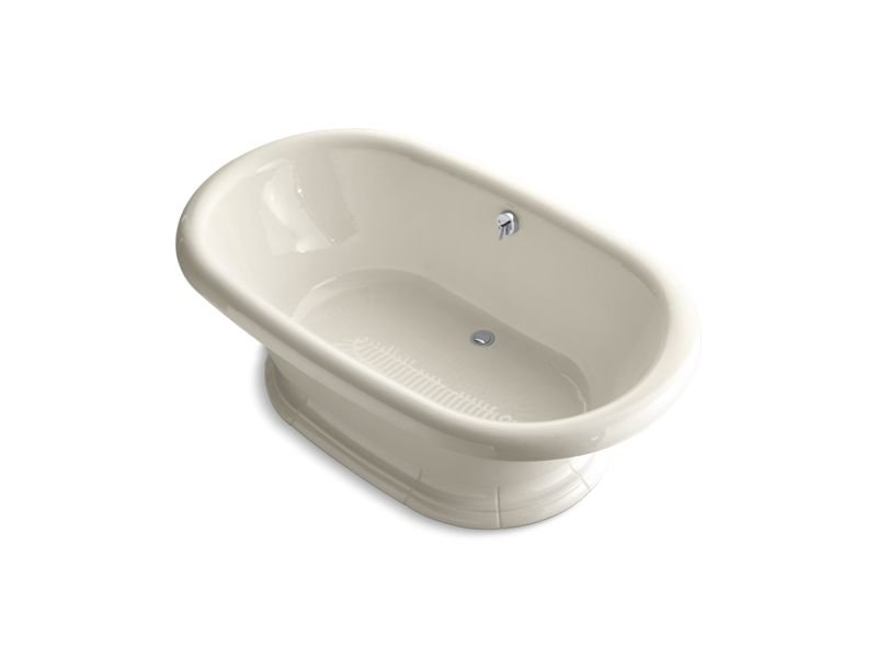 "Kohler K-700-47 Vintage 72"" x 42"" Freestanding Bath in Almond"