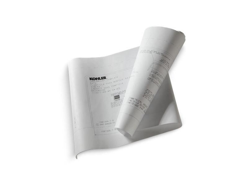 Kohler K-531-NA Underscore Under-Mount Installation Kit for Use with Underscore Baths, Whirlpools, and Bubblemassage Air Baths