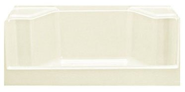 """Sterling Advantage 62031100-96 48"""" X 34"""" 17-1/4"""", Biscuit/Swirl-Gloss, Vikrell, 3-Wall Alcove, Rectangle, Shower Receptor"""