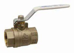 "NIBCO NL998X6 1/2"" Fptxfpt 600Psi Cwp Brass Full Port Two-Piece Ball Valve"