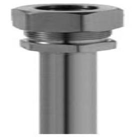 """Brasscraft 1-12KC C 3/8"""" X 11-1/2"""" Chrome Copper/Brass 1-Piece Faucet Riser Tube"""
