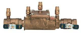 "Watts 63232 1"" Fptxfpt Cast Copper Silicon Alloy Double Check Valve Assembly Backflow Preventer"