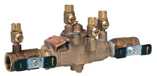 "Watts 391004 1"" Fptxfpt Cast Copper Silicon Alloy Reduced Pressure Backflow Preventer"