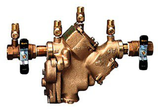 "Watts 391012 2"" Mptxmpt Cast Copper Silicon Alloy Reduced Pressure Backflow Preventer"
