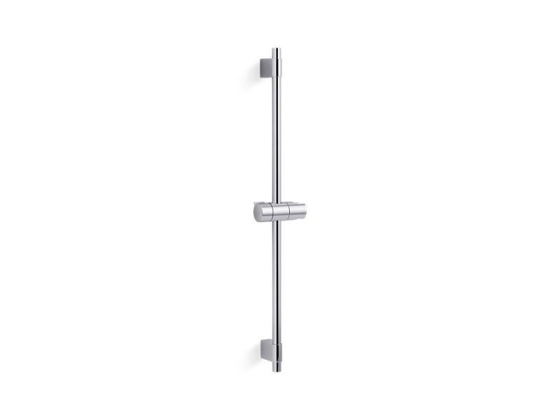 """Kohler K-98341-CP Awaken 24"""" Hand Shower Slide Bar in Polished Chrome"""