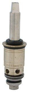 "Chicago Quaturn 377-XTLHJKABNF 3-3/8"" Solid Brass 1/4 Turn Right Hand 90Deg Faucet Cartridge"