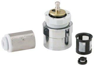 "Chicago Mvp 667-080KJKABNF 3-3/4"" Solid Brass Faucet Metering Valve Actuator Assembly"