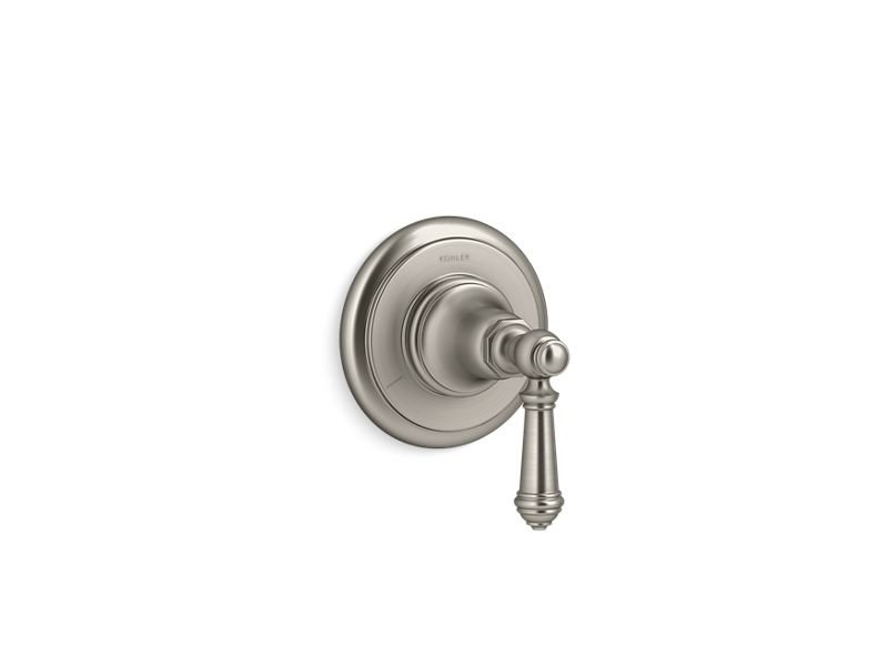 Kohler K-T72770-4-BN Artifacts Transfer Valve Trim with Lever Handle in Vibrant Brushed Nickel
