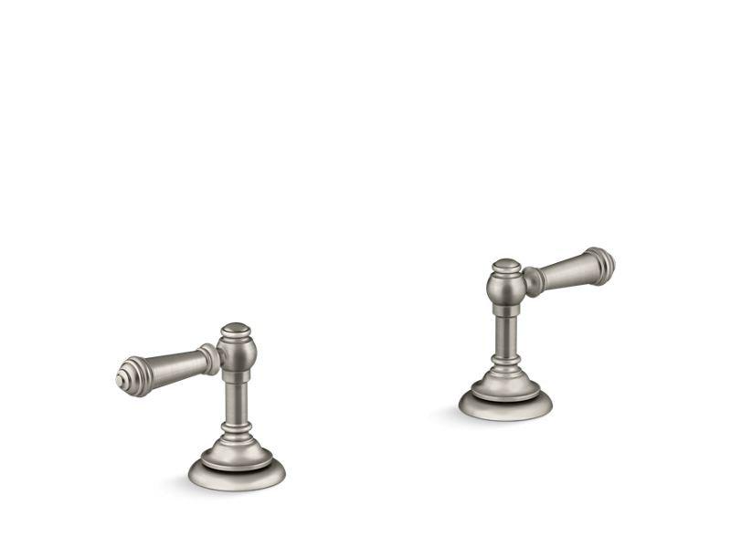 Kohler K-T98071-4-BN Artifacts Deck-mount Bath Lever Handle Trim in Vibrant Brushed Nickel