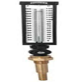 "Winter TIM100ALF 3/4"" Npt Aluminum Organic Fluid Straight Shank Industrial Thermometer"